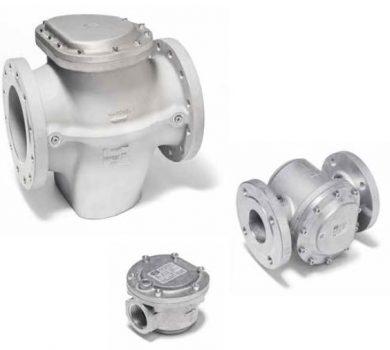 Armatura filtracyjna do gazu